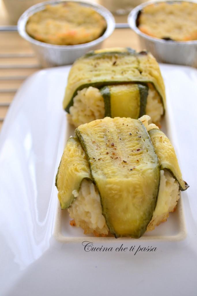 timballi di riso con mozzarella e zucchine ricetta (28)