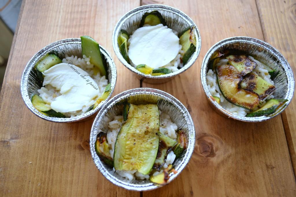 timballi di riso con mozzarella e zucchine ricetta (6)