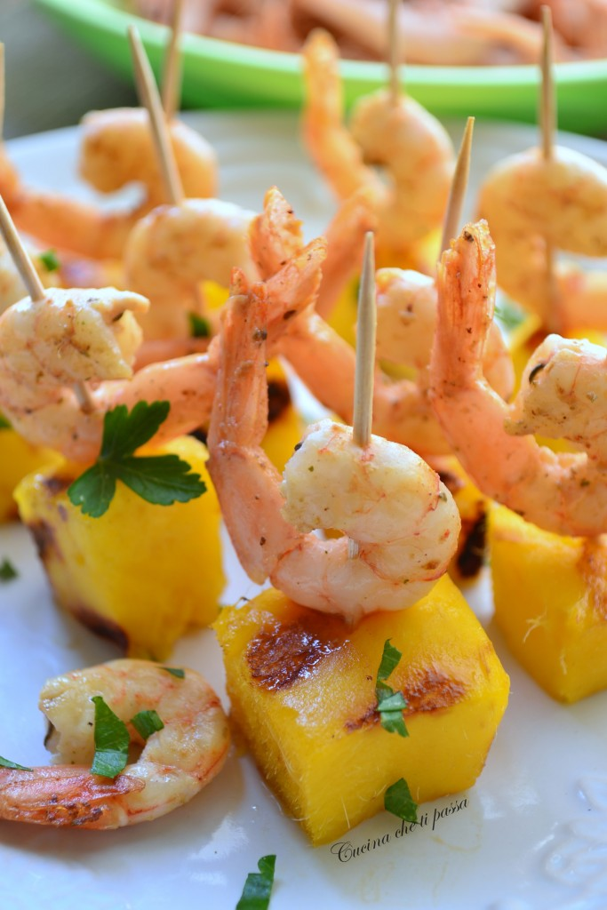 antipasti di mango e gamberetti ricetta (38)