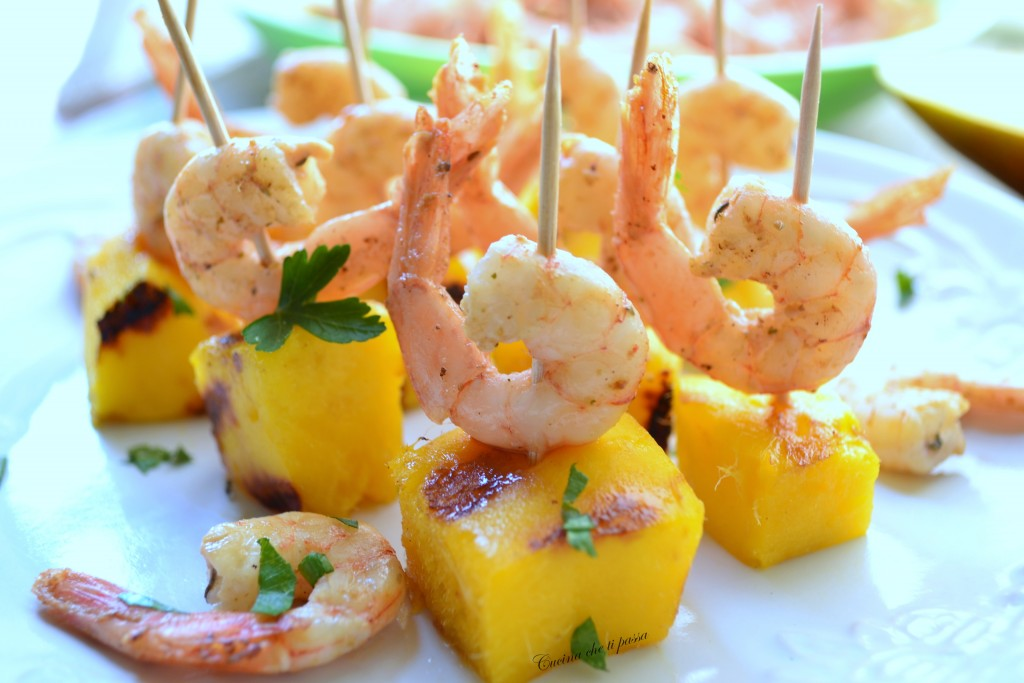 antipasti di mango e gamberetti ricetta (41)