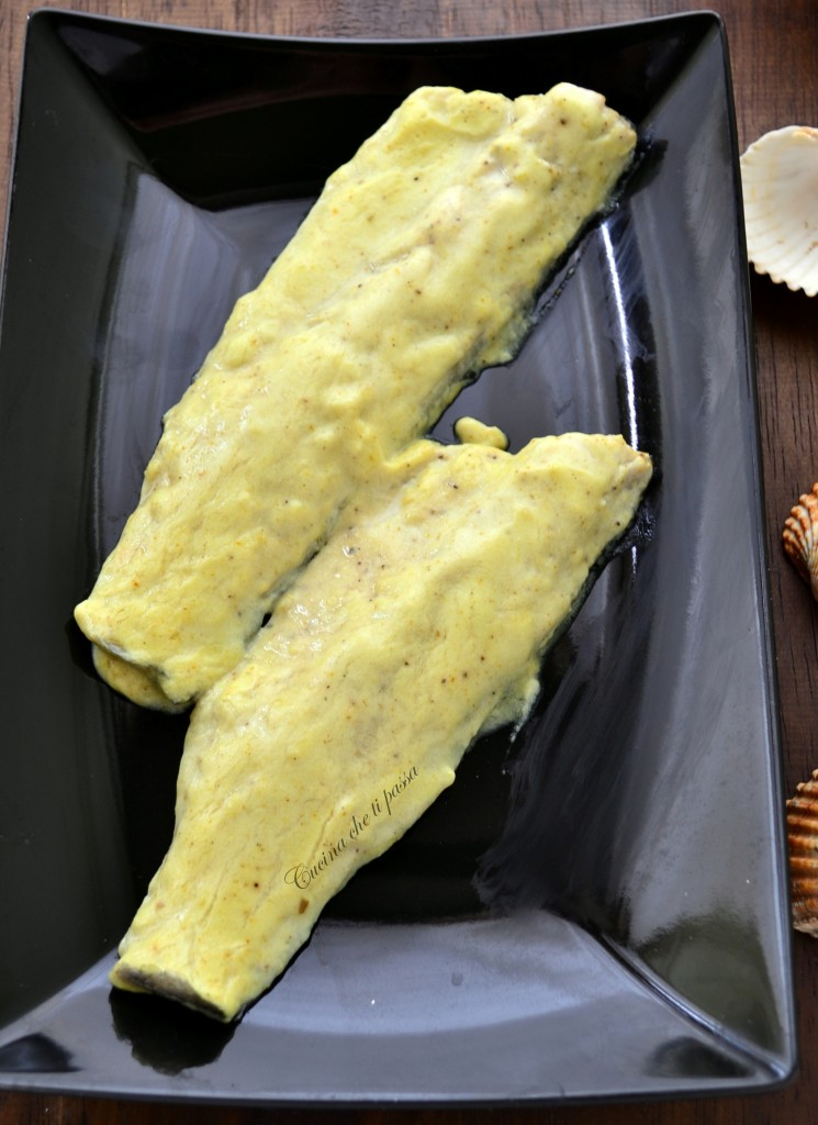 filetti di branzino con crema al curry ricetta (11)