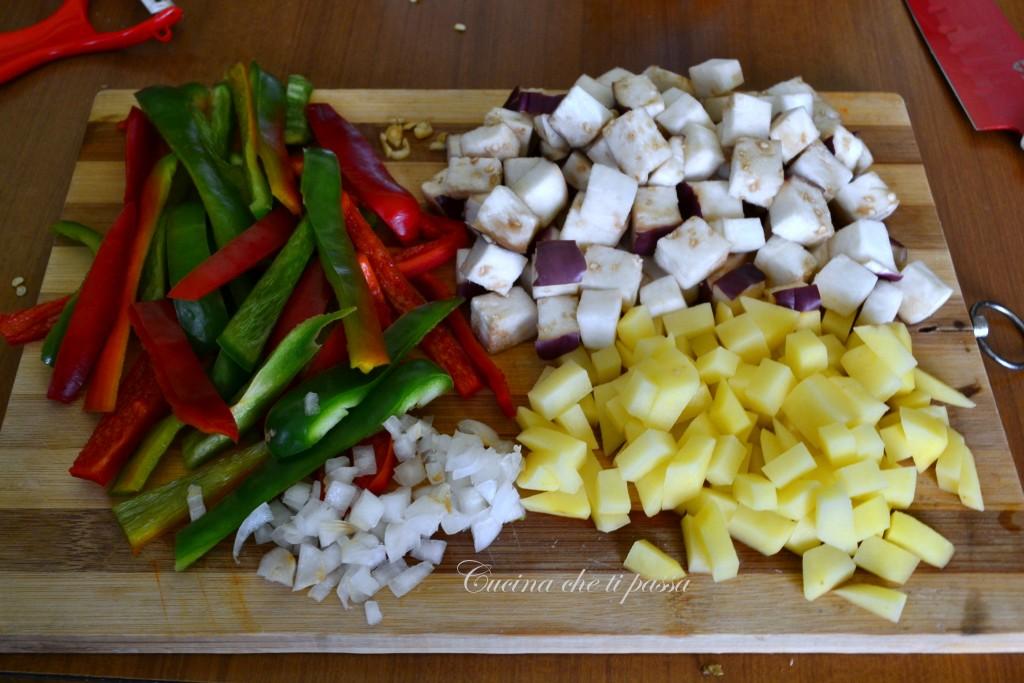 peperonata con melanzane non fritta (2)