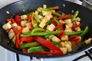 peperonata con melanzane non fritta (5)