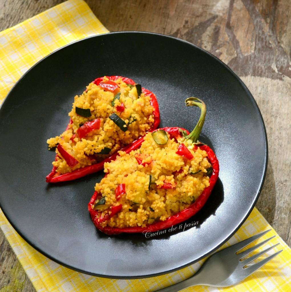 peperoni ripieni di cous cous ricetta (10)