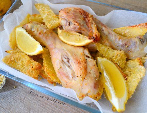 Pollo arrosto al limone