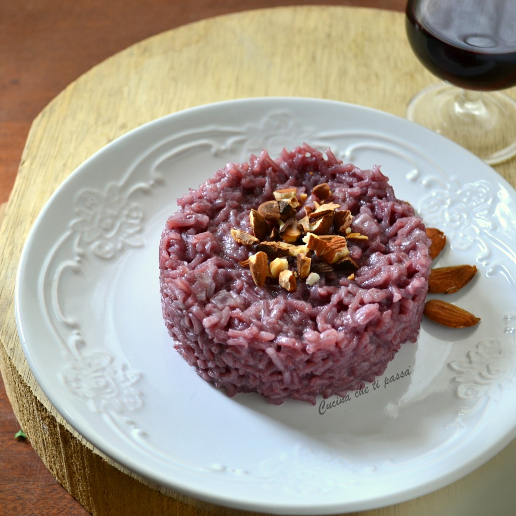 risotto al nero d'avola ricetta (5)