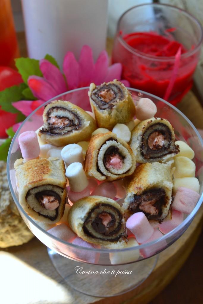 rotolini con nutella e marshmallows (9)