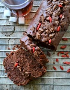 plumcake al ciocolato e bacche di goji (51)