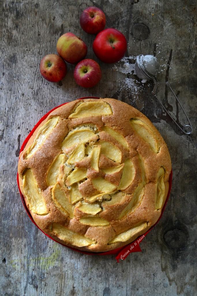 torta di mele senza burro ricetta (15)