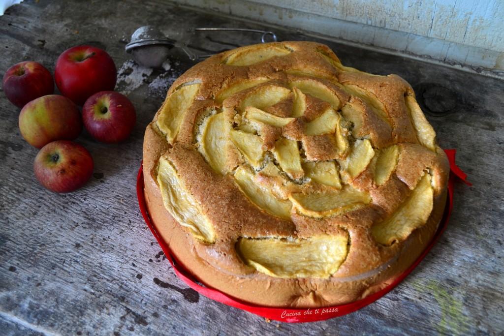 torta di mele senza burro ricetta (17)