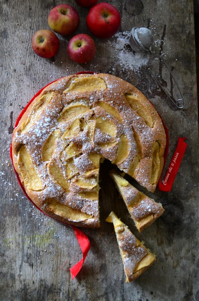 torta di mele senza burro ricetta (32)