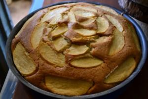 torta di mele senza burro ricetta (6)