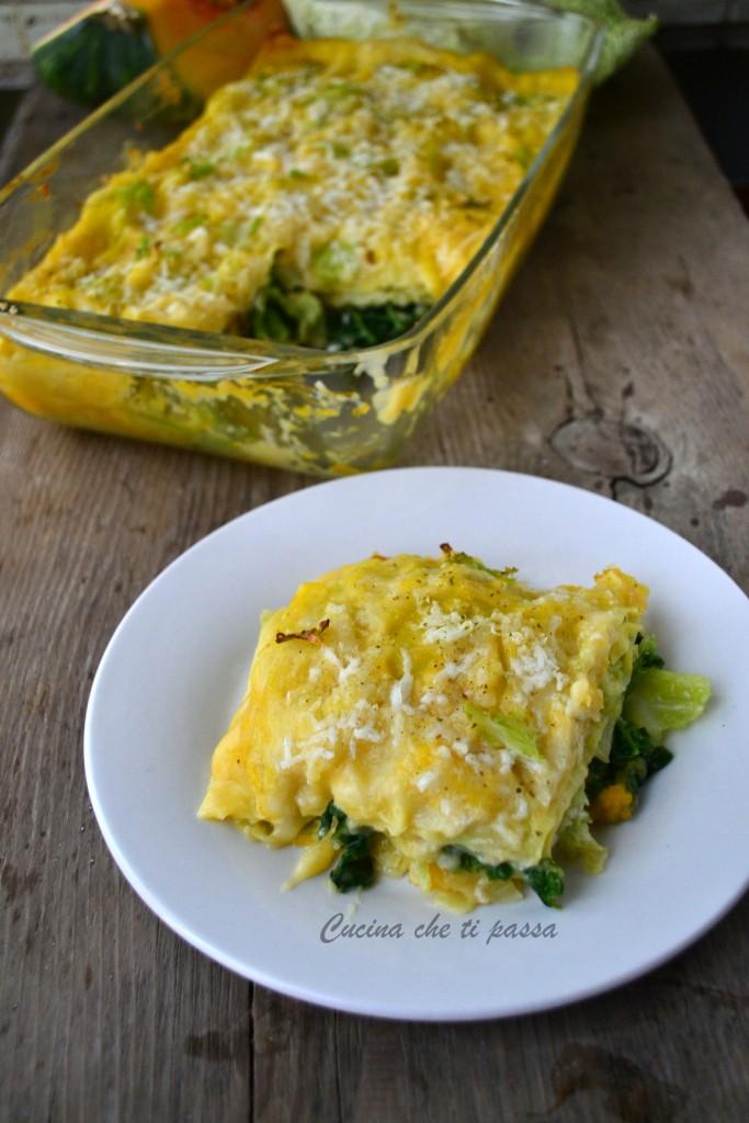 lasagne con verza e zucca ricetta (20)