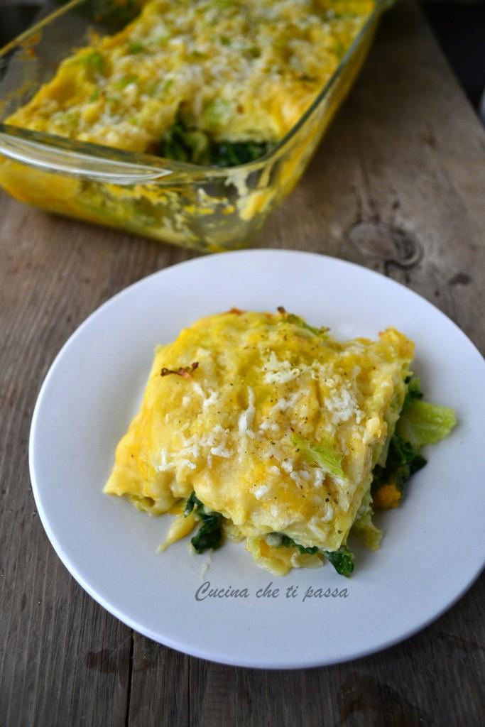 lasagne con verza e zucca ricetta (24)