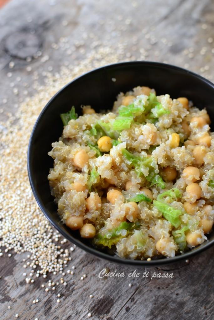 quinoa con ceci e verza ricetta (10)