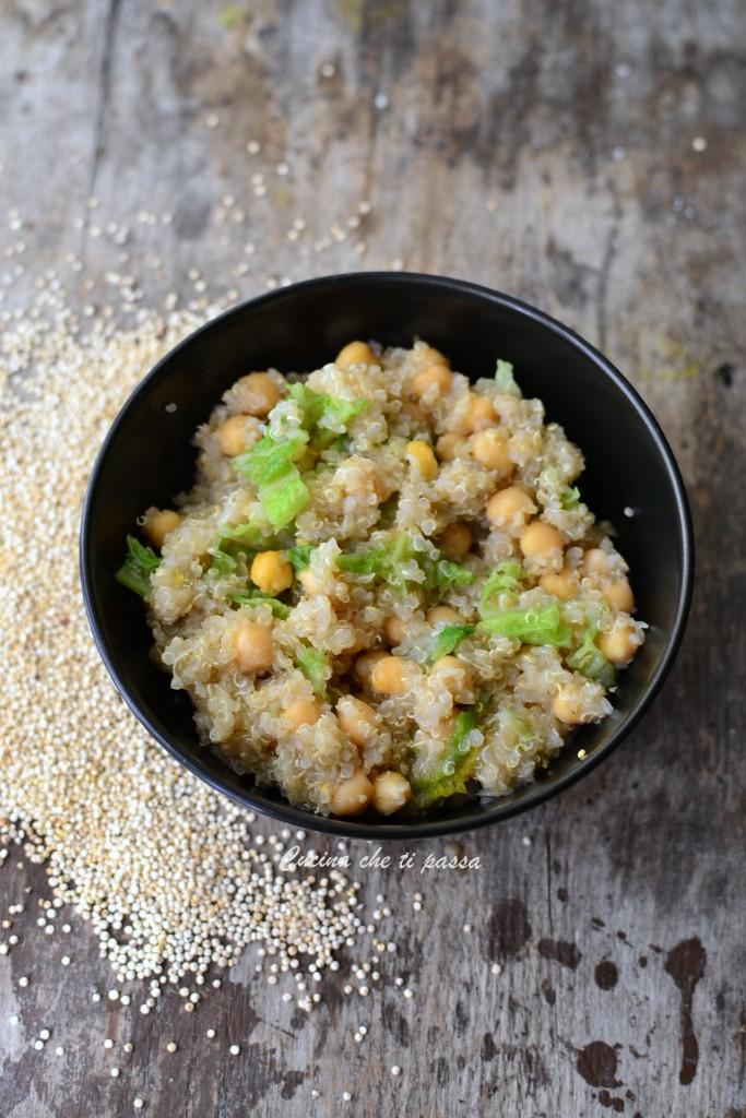 quinoa con ceci e verza ricetta (12)