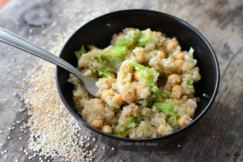 quinoa con ceci e verza ricetta (20)