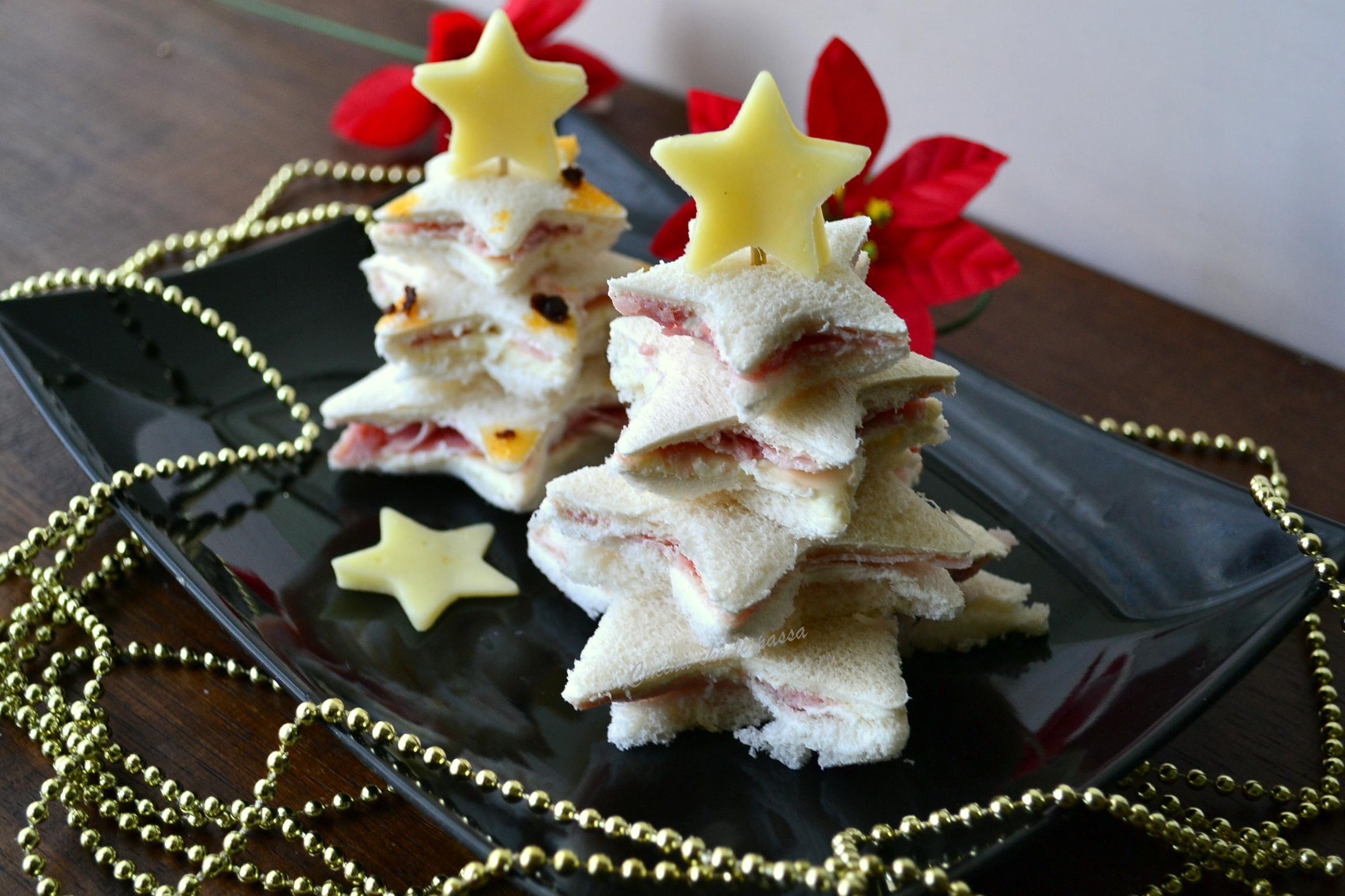 Antipasti Alberelli Di Natale.Antipasto Ad Albero Di Natale Cucina Che Ti Passa