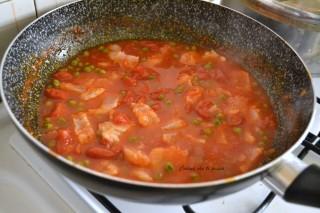 calamarata con persico e piselli (5)