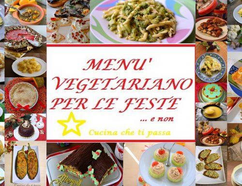 Ricette Vegetariane per le feste