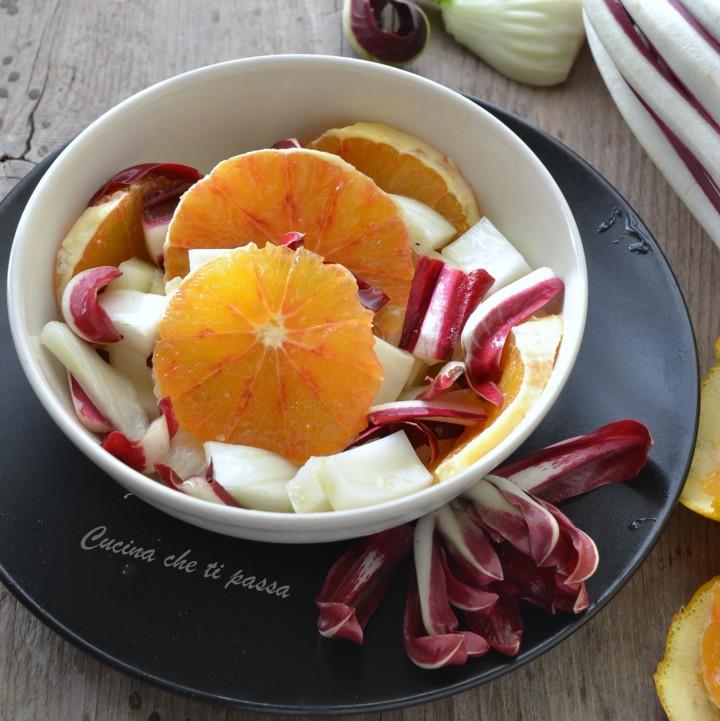 insalata di arance, finocchio e radicchio ricetta (1)