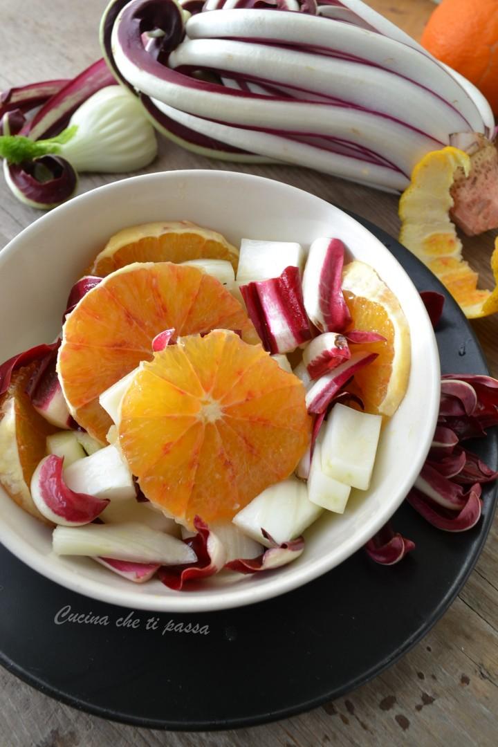 insalata di arance, finocchio e radicchio ricetta (17)