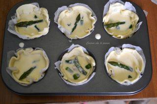 mini quiche agli asparagi ricetta (6)