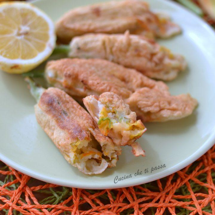 fiori di zucca ripieni di patate ricette facile (25)