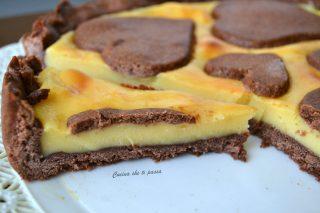 crostata al cioccolato e crema pasticcera (54)
