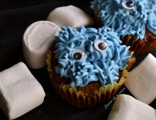 Cupcakes mostriciattoli