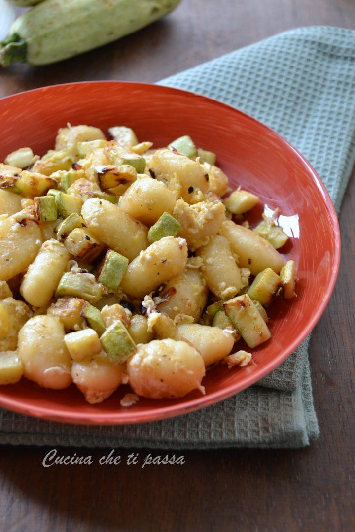 gnocchi con uova e zucchine ricetta (7)