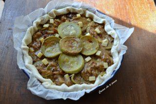 torta salata di zucchine e melanzane (7)