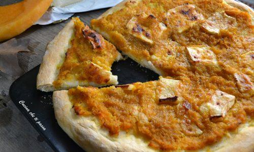 Pizza zucca e brie
