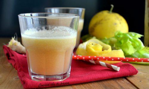 Centrifugato pompelmo e mela