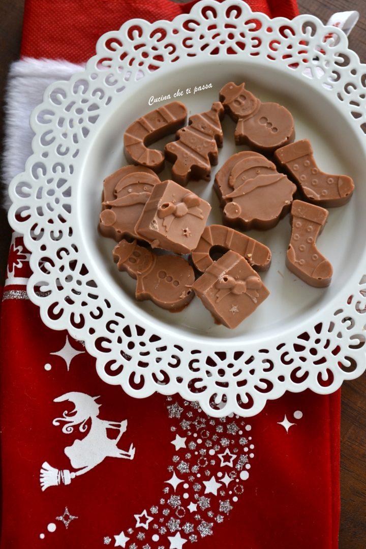 cioccolatini al latte ripieni
