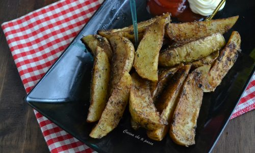 Patate speziate al microonde