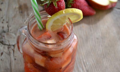 Drink fragola e mela