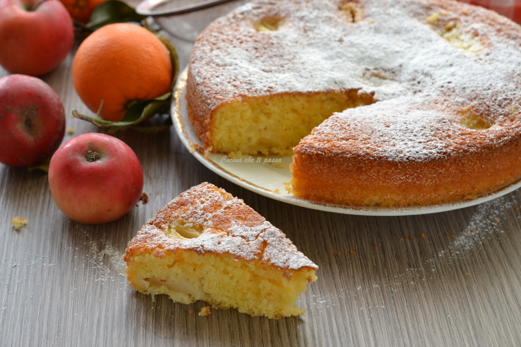 Torta di mele ed arance