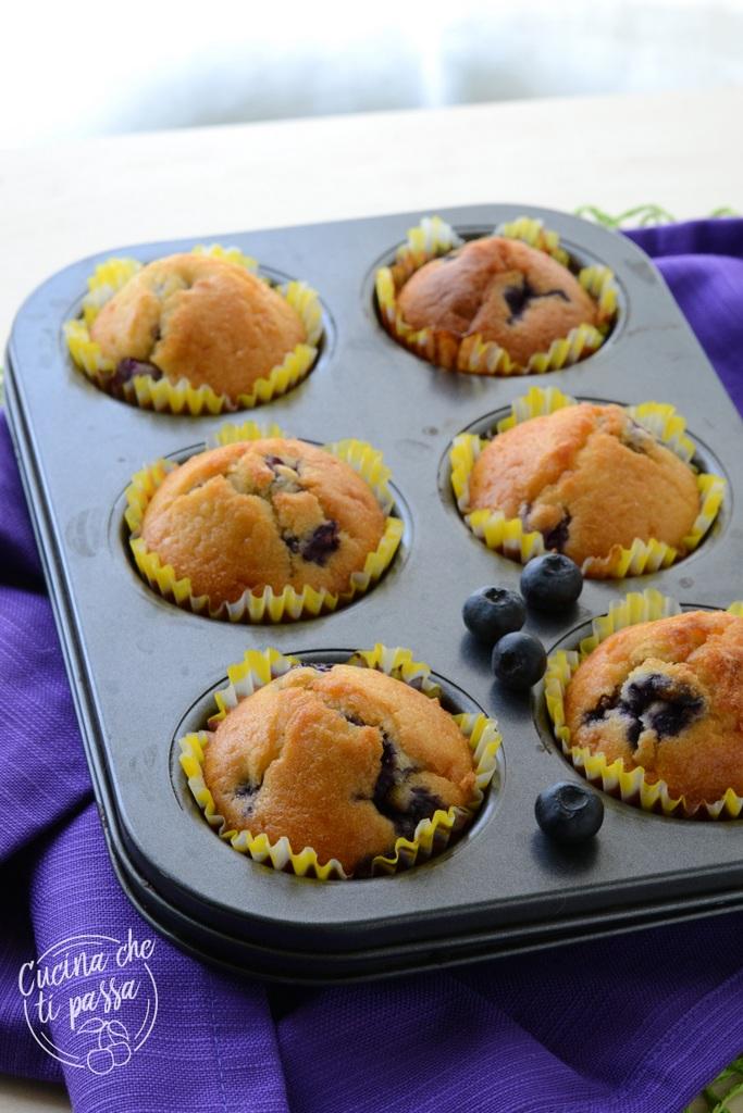 Muffin ai mirtilli Blueberry muffins