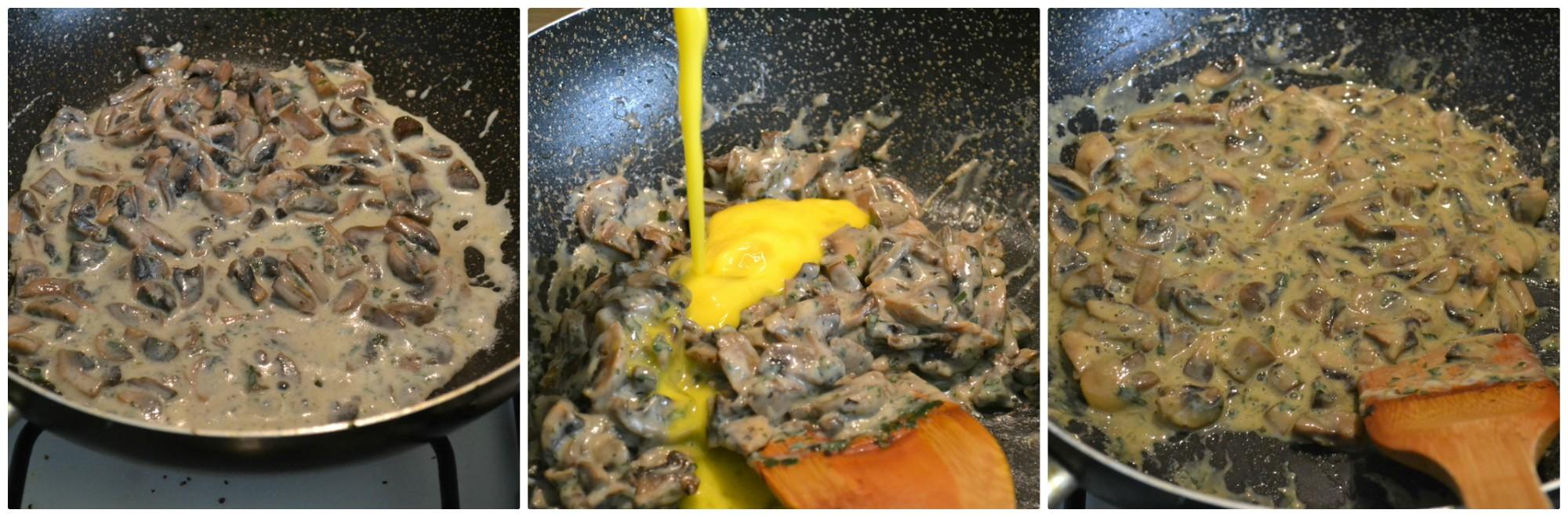 patate ripiene di funghi