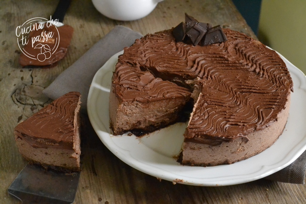 Newyork cheesecake al cioccolato