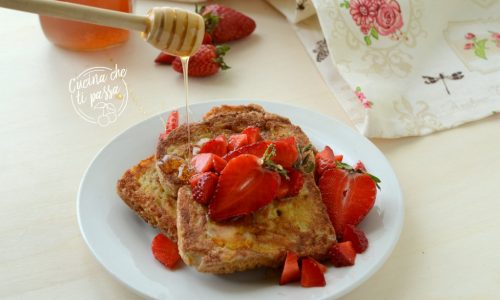 French toast alle fragole