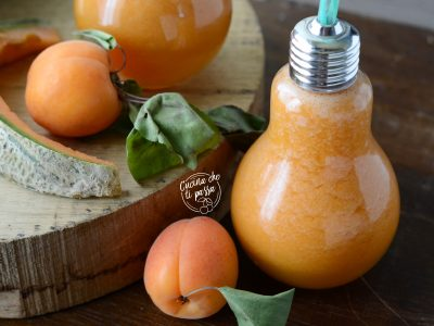 Centrifugato di albicocche e melone