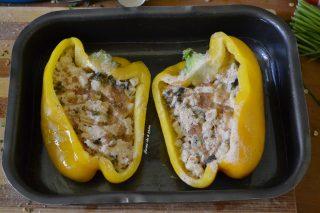 Peperoni ripieni con le olive