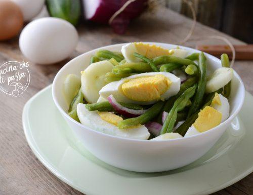 Insalata di fagiolini ed uova