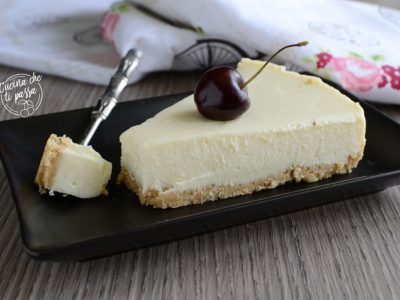 Cheesecake al latte condensato