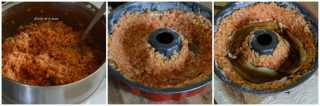 Timballo di riso alle melanzane