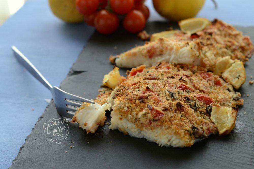 Filetti di pesce gratinati