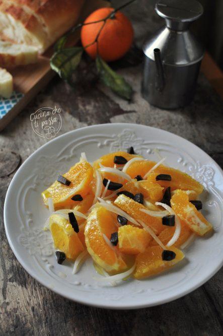 insalata d'arance ed olive
