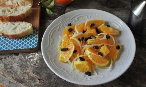 Insalata di arance ed olive nere